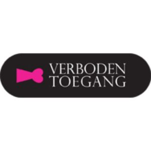 Tag it sleutelhanger Verboden toegang