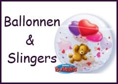 ballonnen en slingers