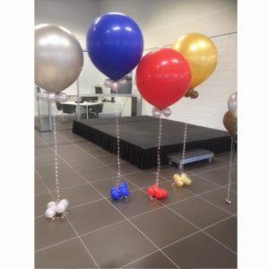 cloudbuster verlichting gevuld met helium 5 inch
