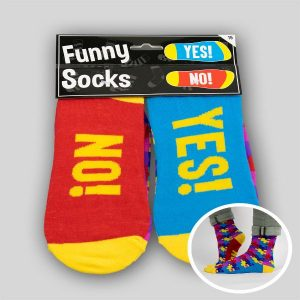 Funny socks YES-NO