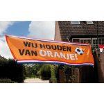 Banner Wij houden van Oranje