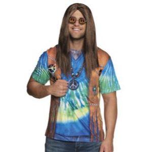 Hippie shirt peace man