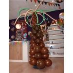 Ballonpilaar palmboom