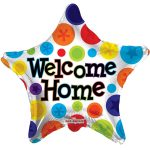 Folieballon ster welcome home