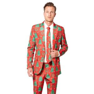 Suitmeister kerstkostuum Christmas trees
