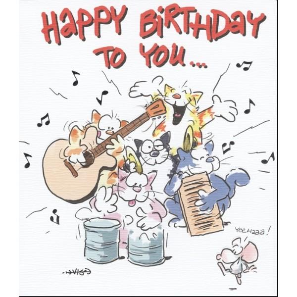 Happy Birthday To Walkonby Jan 30: Pink Lemon Wenskaart Happy Birthday