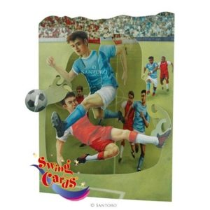 3D swing card Voetbal